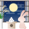お月見どろぼうの意味と由来は?風習が残る地域と配るお菓子の種類